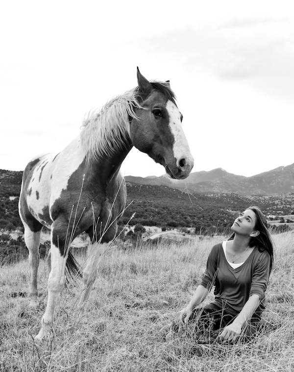 Koelle Simpson with horse